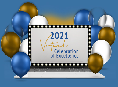 You're Invited to a Virtual Celebration of Excellence, 3/12 @ 11:30 am