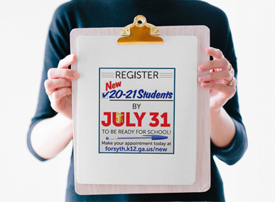 New 2020-21 Student Registration