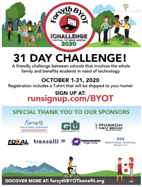 Forsyth County BYOT iChallenge - October 1-31, 2020