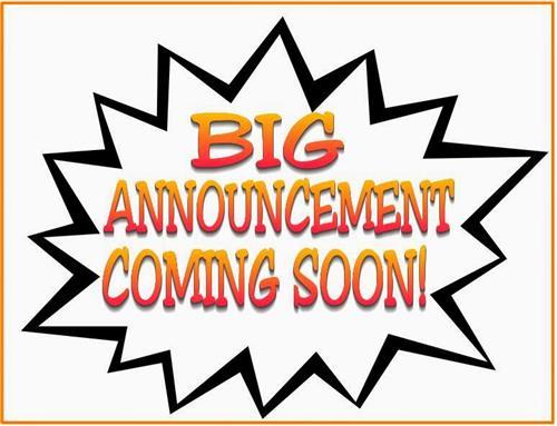 big announcement