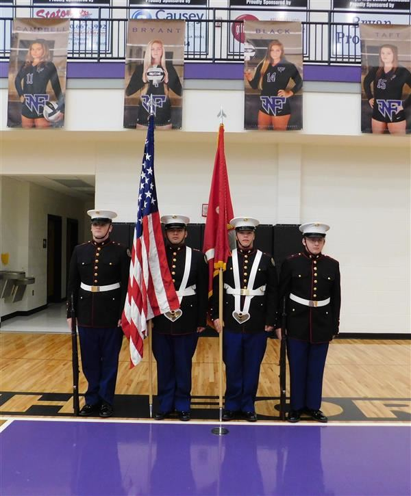Standing Color Guard