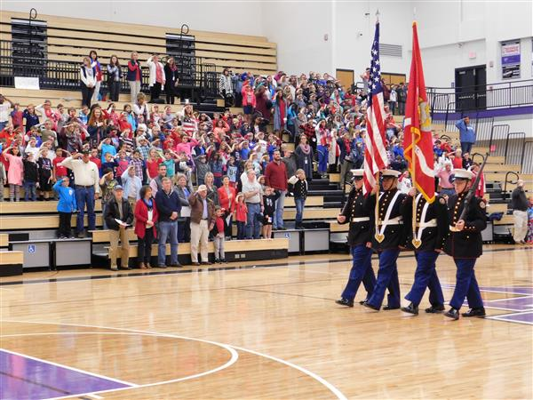 Moving Color Guard