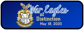 War Eagles of Distinction - May 18, 2020