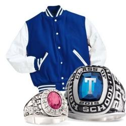 Order Class Rings and Letter Jackets
