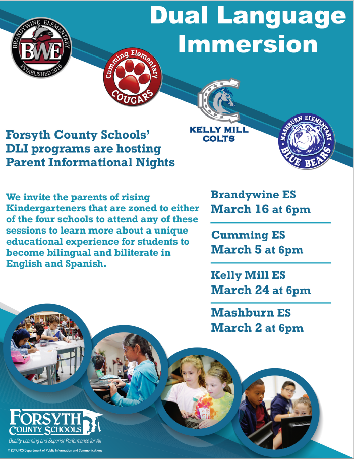 March Parent Information Nights