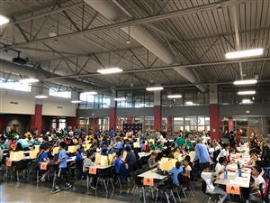 More than 200 students compete at the 2018 FCS Pi Fight.