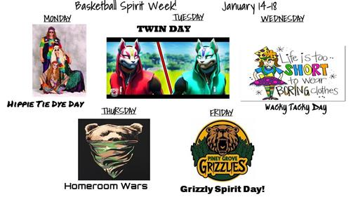 Basketball Spirit Week