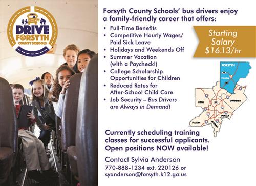 Transportation / Bus Drivers Wanted