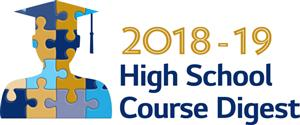2018-19 High School Course Digest graphic