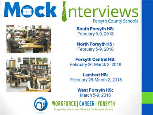 Our Students Are Looking Forward To This Opportunity As They Experience How  To Search, Prepare, And Apply For A Job. We Are Searching For Interviewers  From ...