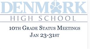 10th grade status meetings