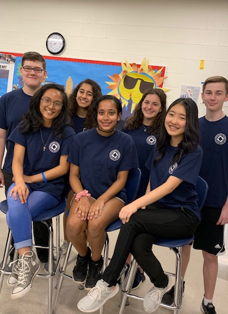 DECA Officers 2019-20