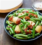 Green beans and potato