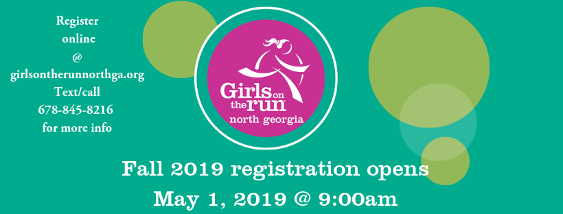 Girls on the Run Registration