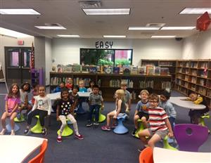 Students love our new wobble stools!