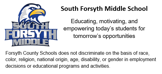 South Forsyth Middle / HomePage