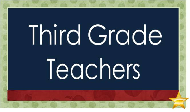 SBE Third Grade Teachers