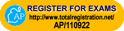 Register for AP Exams - http://www.totalregistration.net/AP/110922