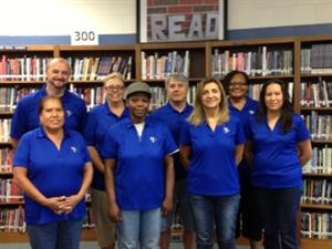 SFHS Custodial Staff 2014-2015