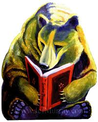 Grizzly Bear Reading