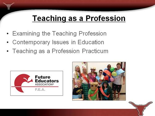 career pathways    teaching as a profession